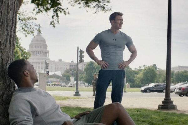 Cap and Falcon